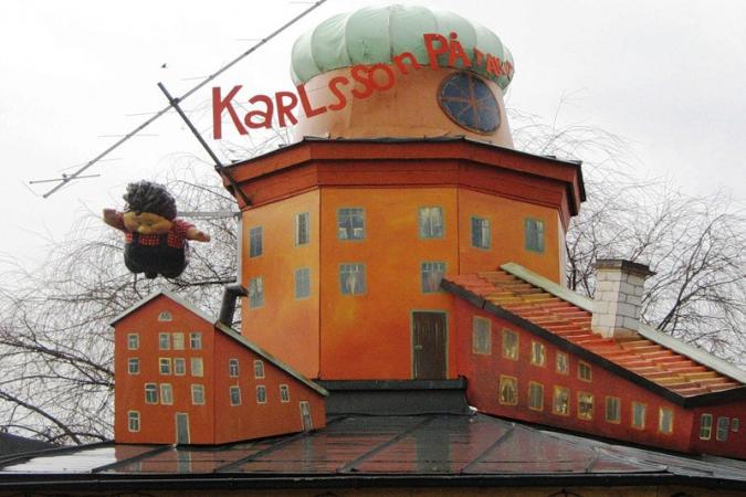 стокгольм - музей астрид лингрен