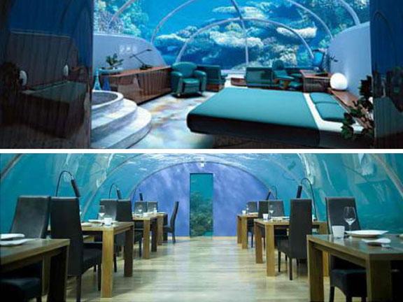 подводный отель - 1