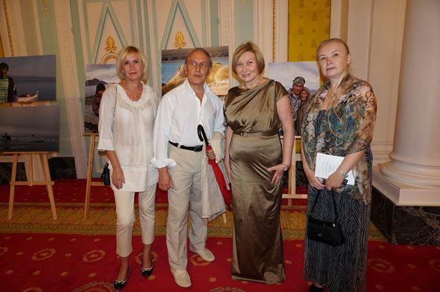 """Вторая выставка Иды. Ницца. Отель """"Негреско"""". 2014г."""