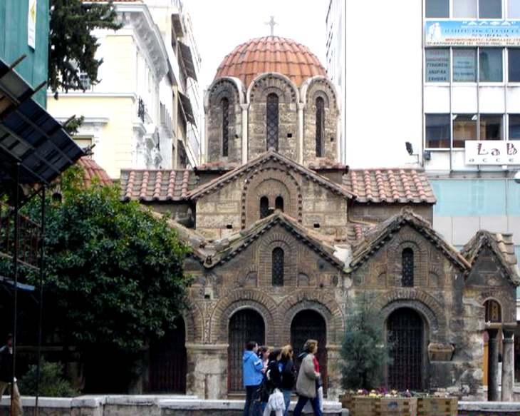 церковь - афины