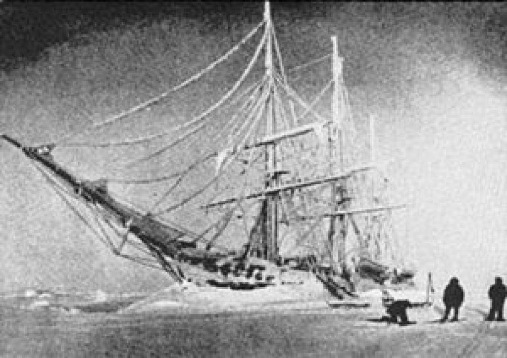 Кук - Корабль во льдах