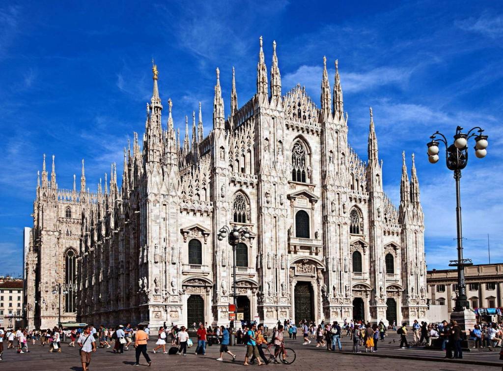 Милан без тумана - Дуомо