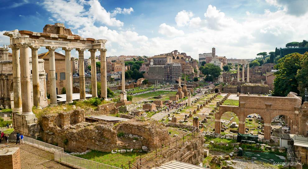 Рим - древняя площадь