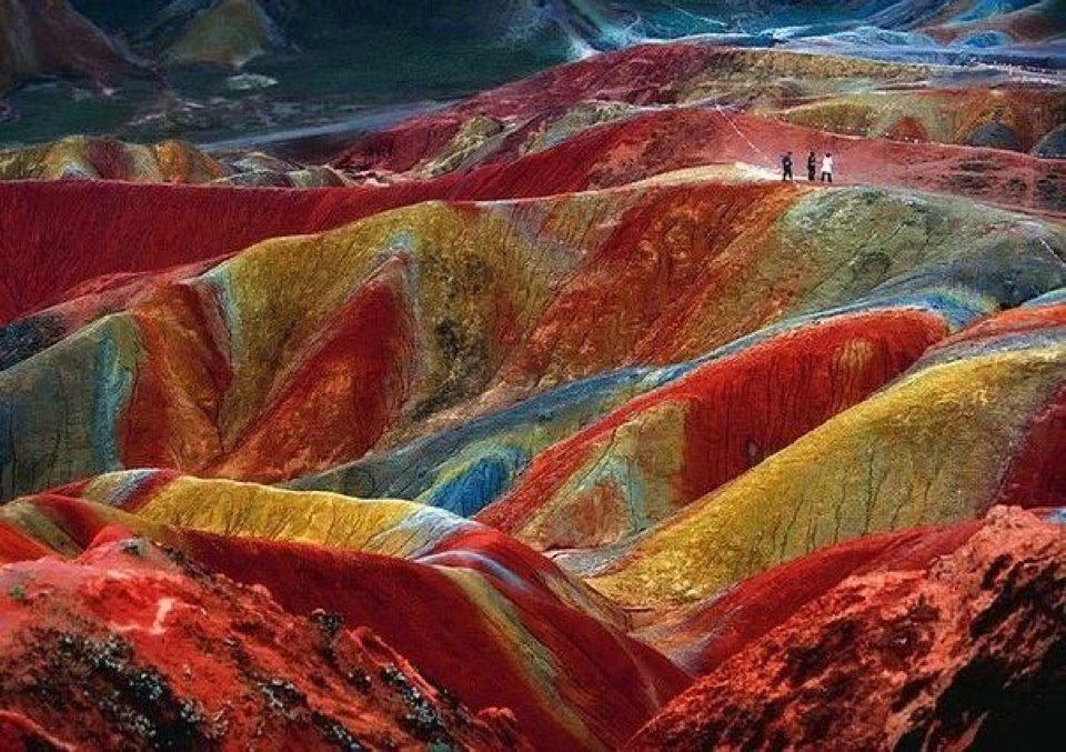 цветные скалы - 2