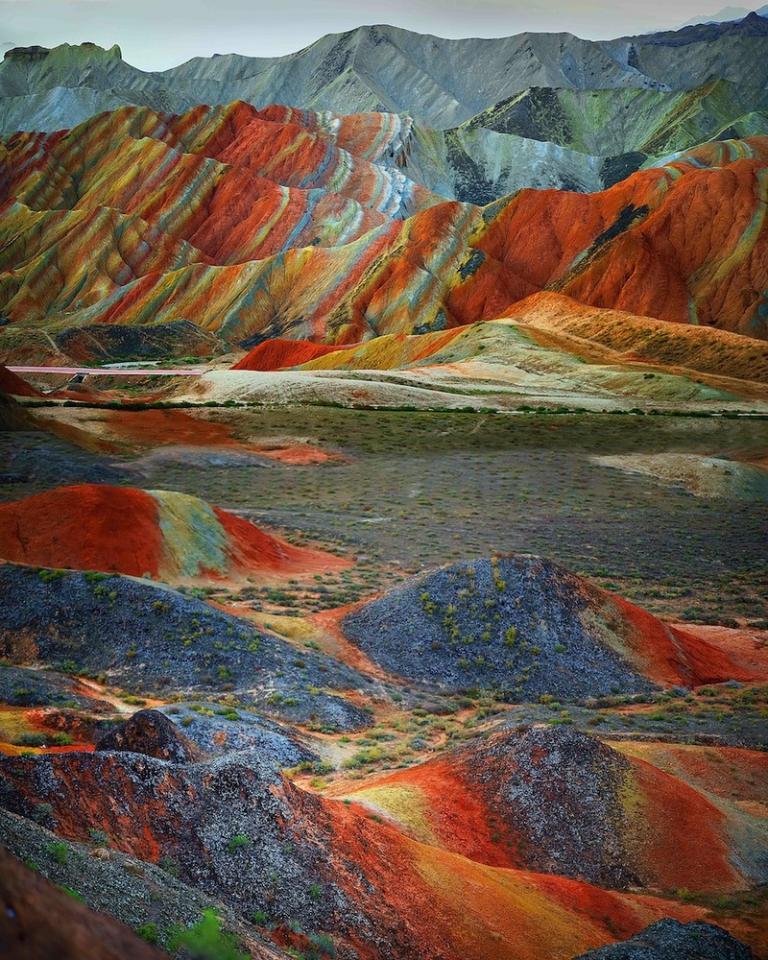 цветные скалы - 3
