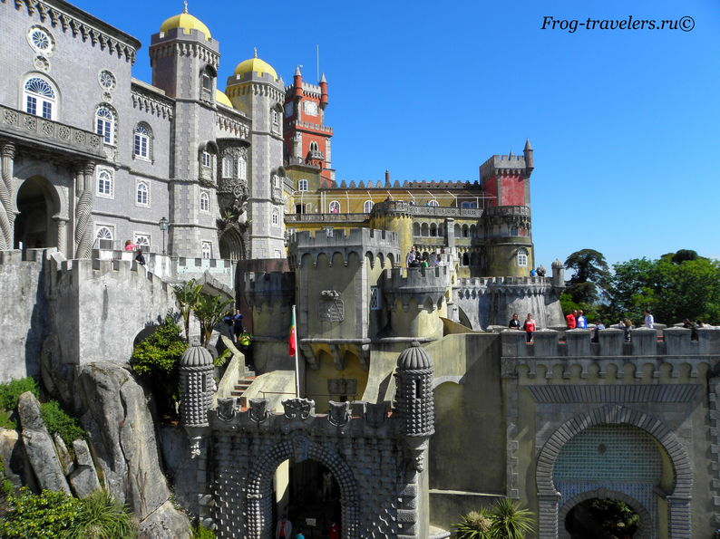 замок пена вид