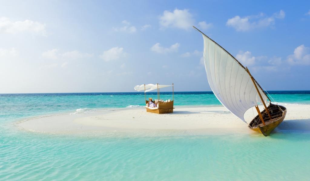мальдивы - островок