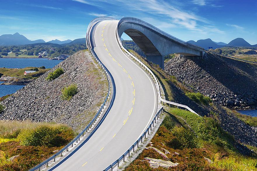 норвегия - Атлантическая дорога