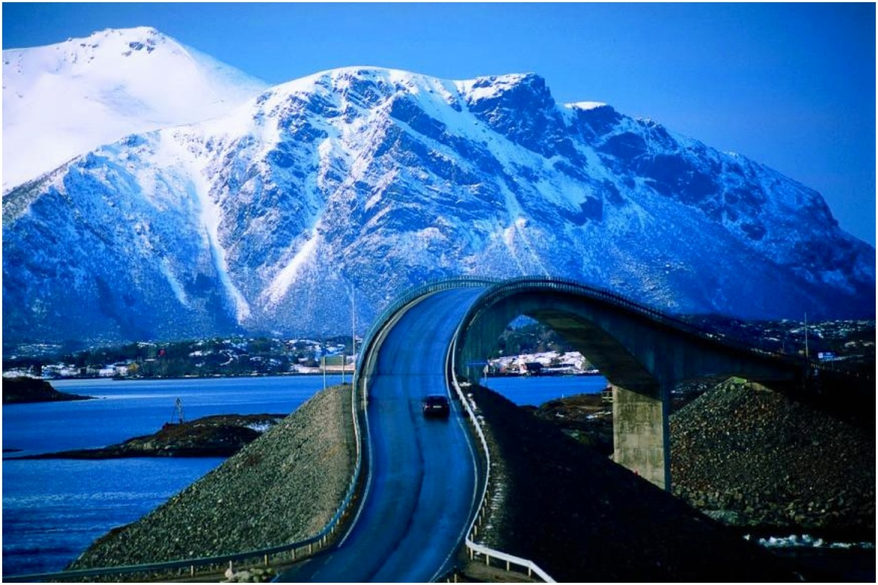 норвегия - дорога - 2