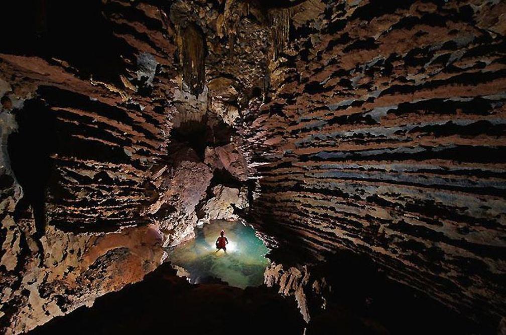 пещера - вход