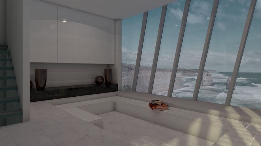 дом висящий на скале - 3