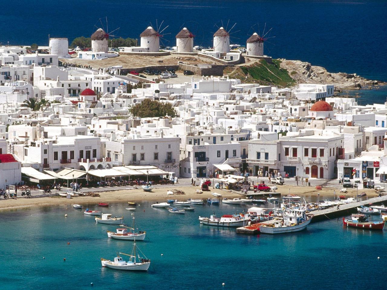 Греция маленькая марина