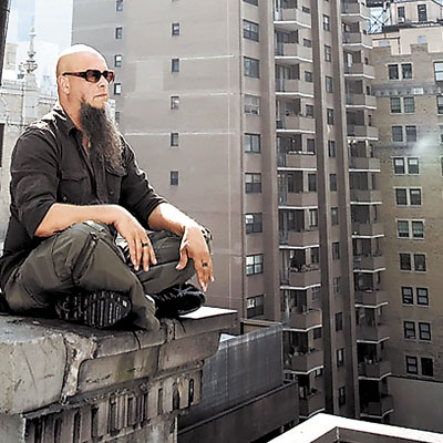медитация на крыше