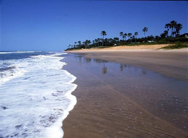 гамбия - пляж