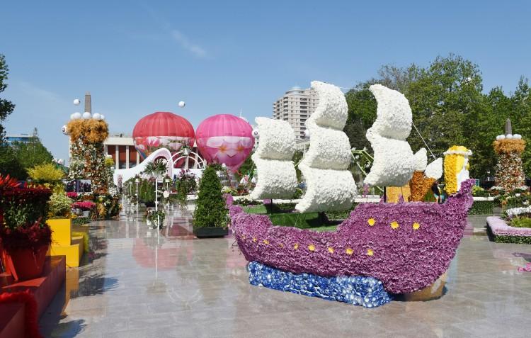фестиваль цветов в баку