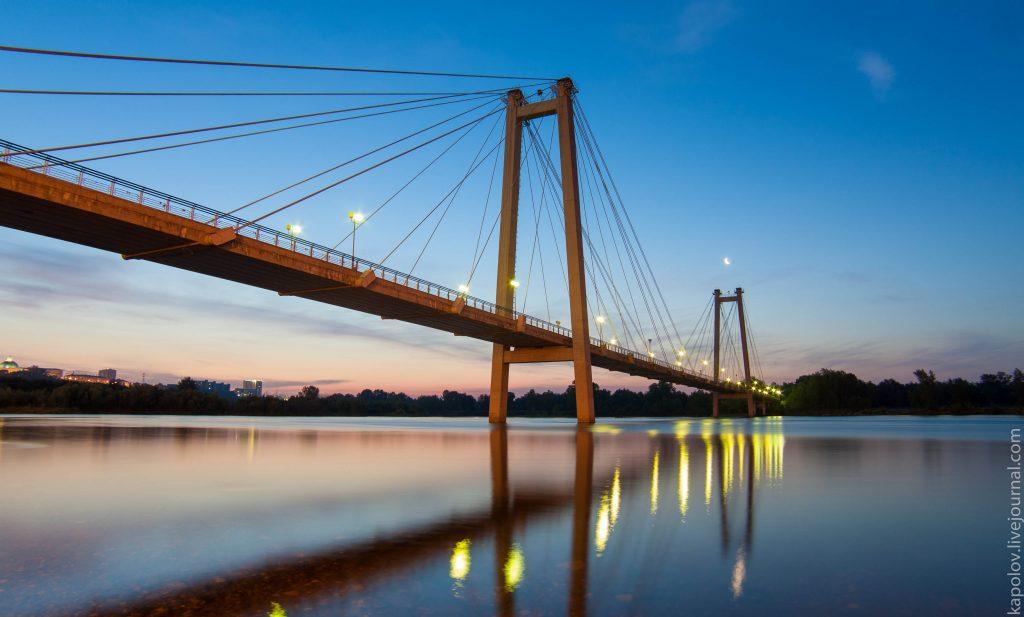 виноградный мост - ночь