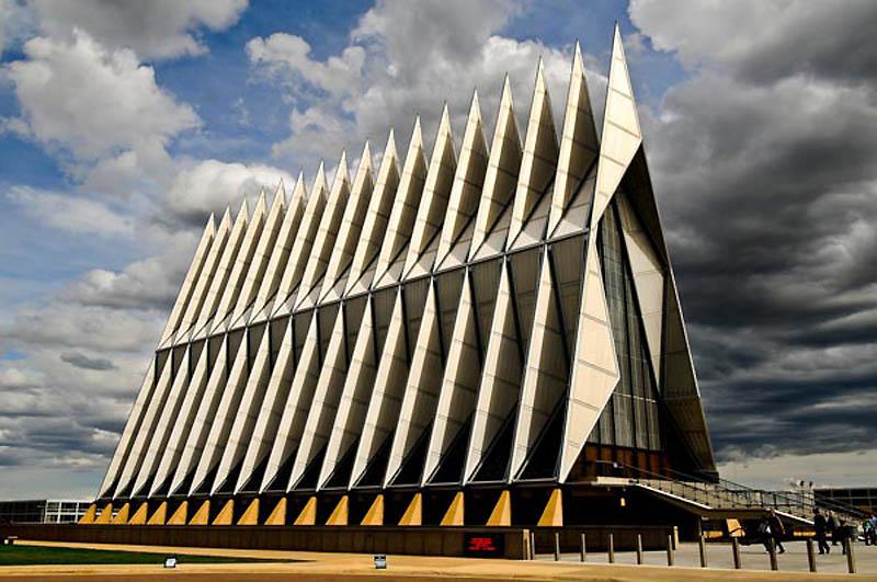 храм - Часовня кадетов Академии ВВС США - колорадо