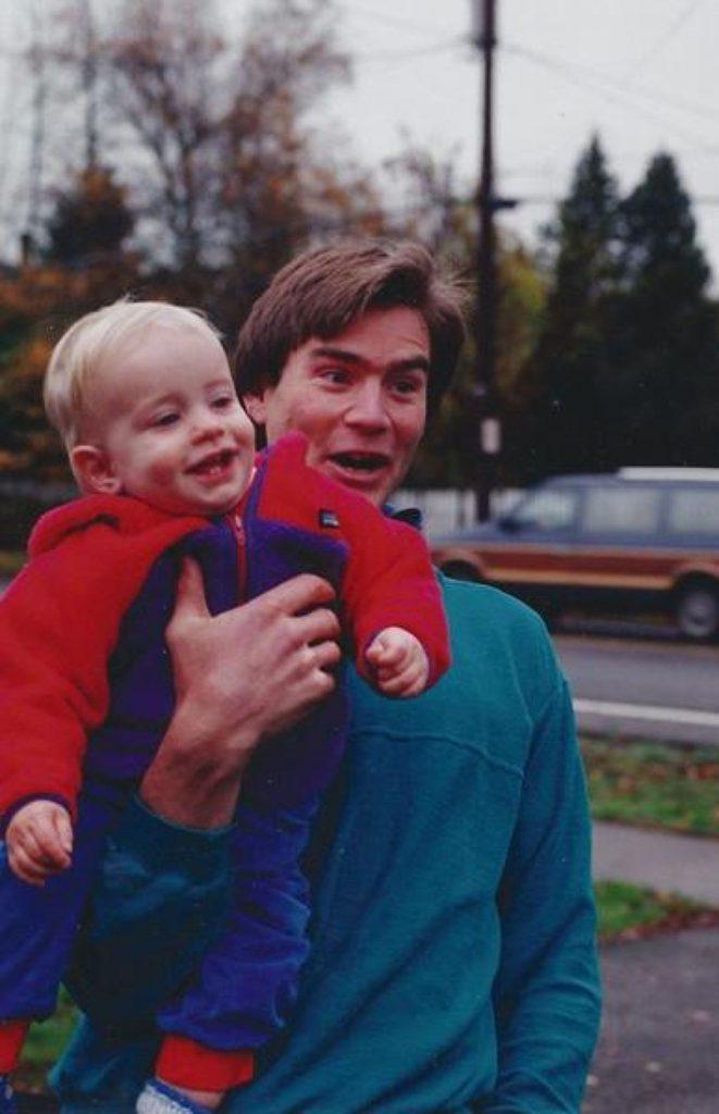 алекс лоу  с ребенком