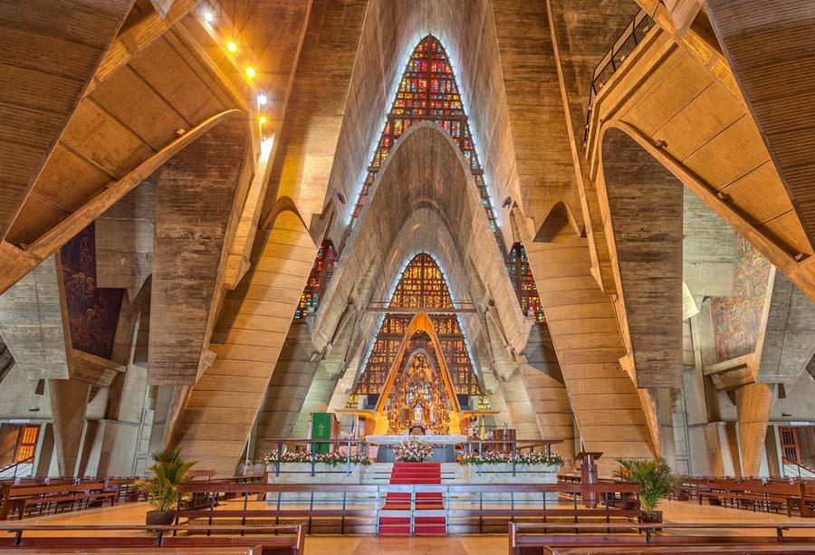базилика - внутри