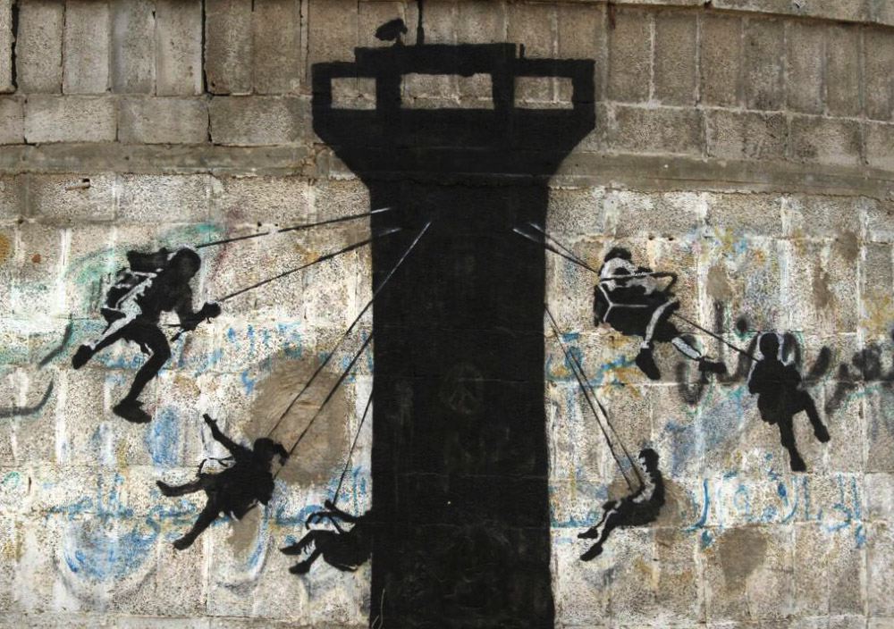 banksy 1 Banksy's back in the big apple the famed british graffiti artist added a new work to new york's streets this week — a stencil of a rat on a clock.