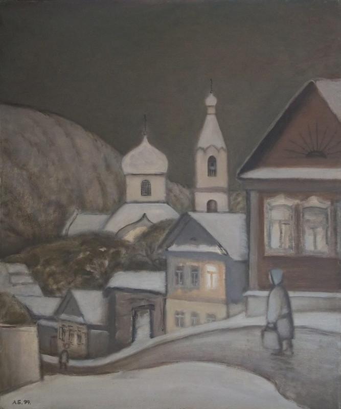Александр Бабин «Ненастье в Старопышминске» 1994