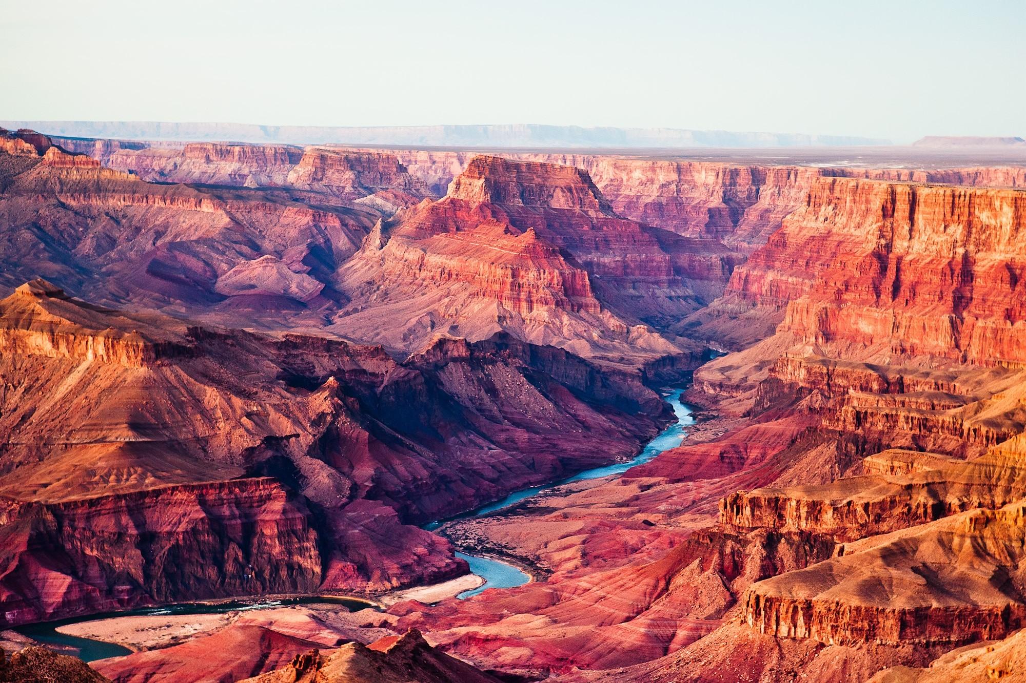гранд каньон аризона - река
