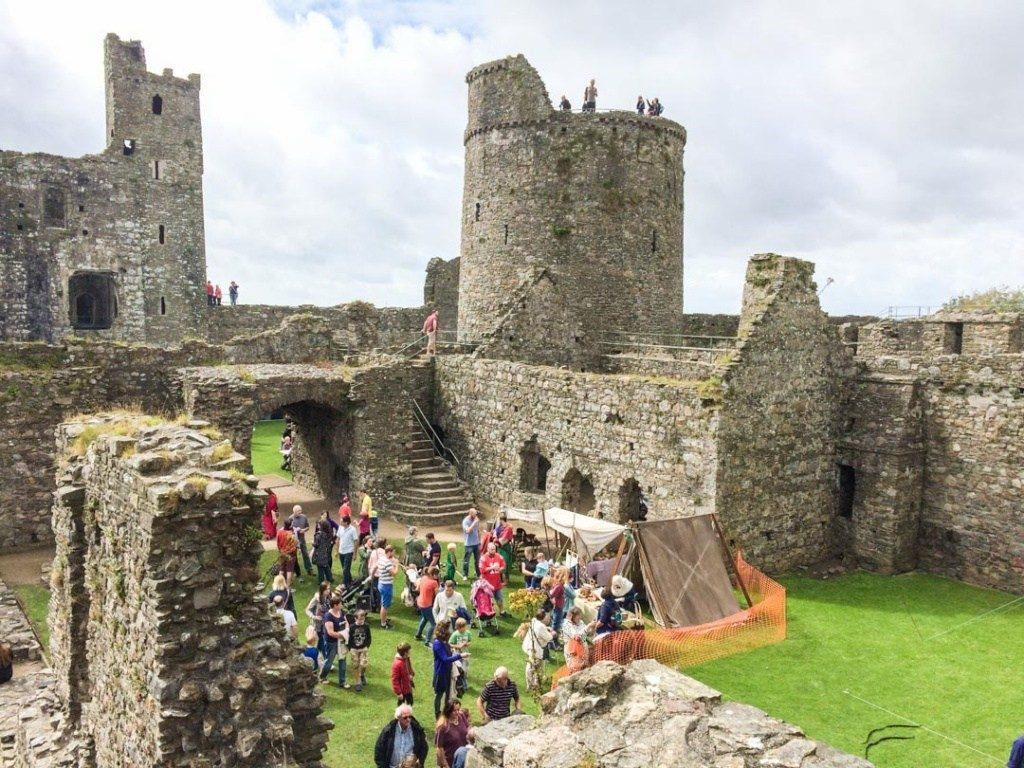 уэльс - замок