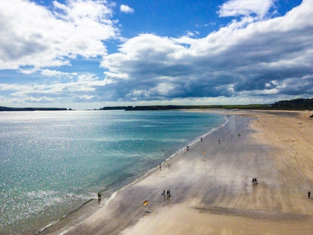 уэльс - пляж