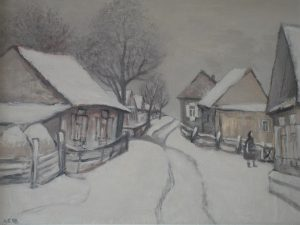 Александр Бабин «Декабрь в Луговой» 1998
