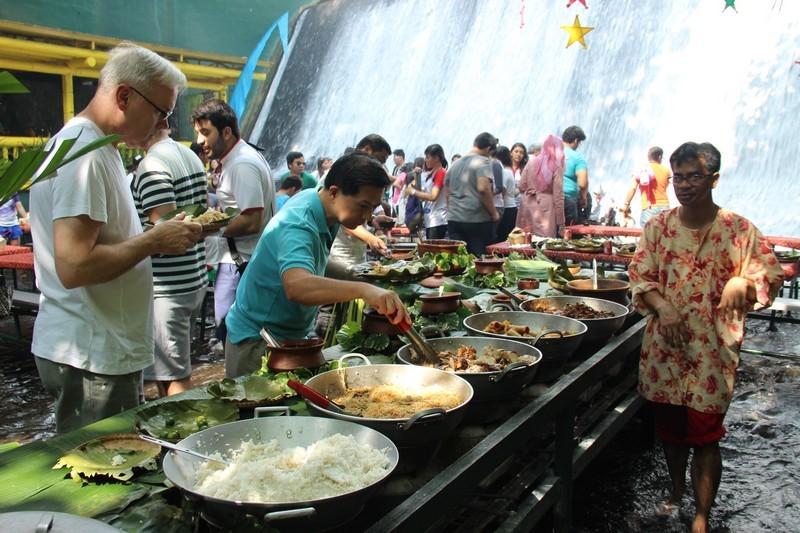 вилла рест народ с едой