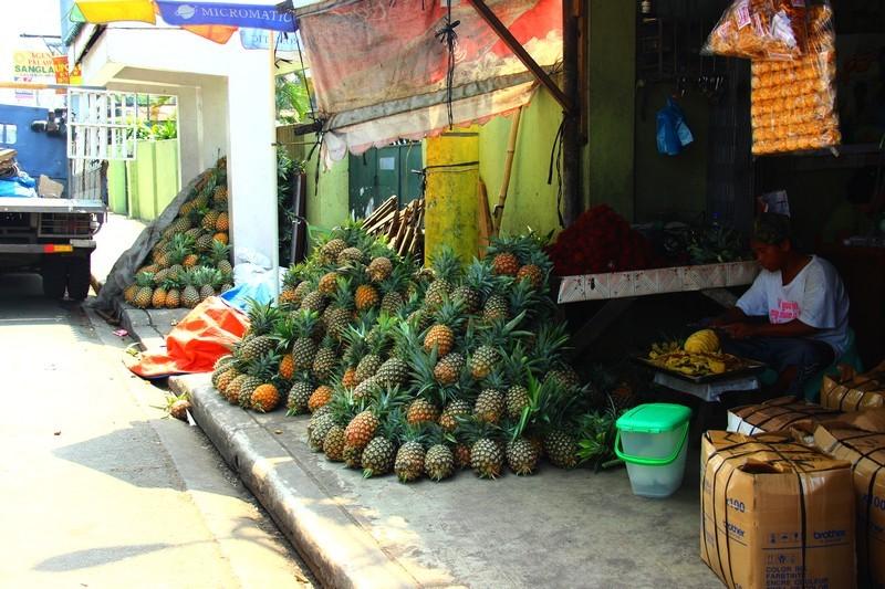 вилла - фрукты