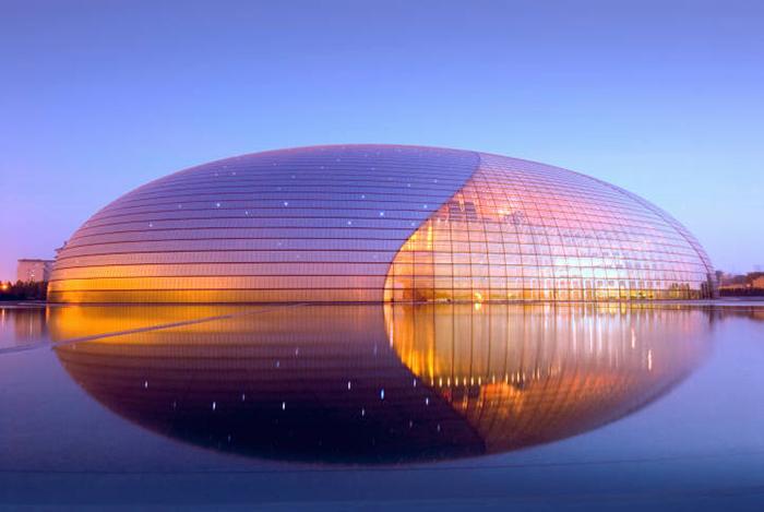 Beijing National Grand Theater, The Egg, Tiananmen, Beijing, China Фото: Paul Andreu