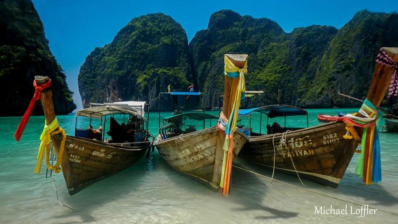 Бухта Майя Бэй, Таиланд