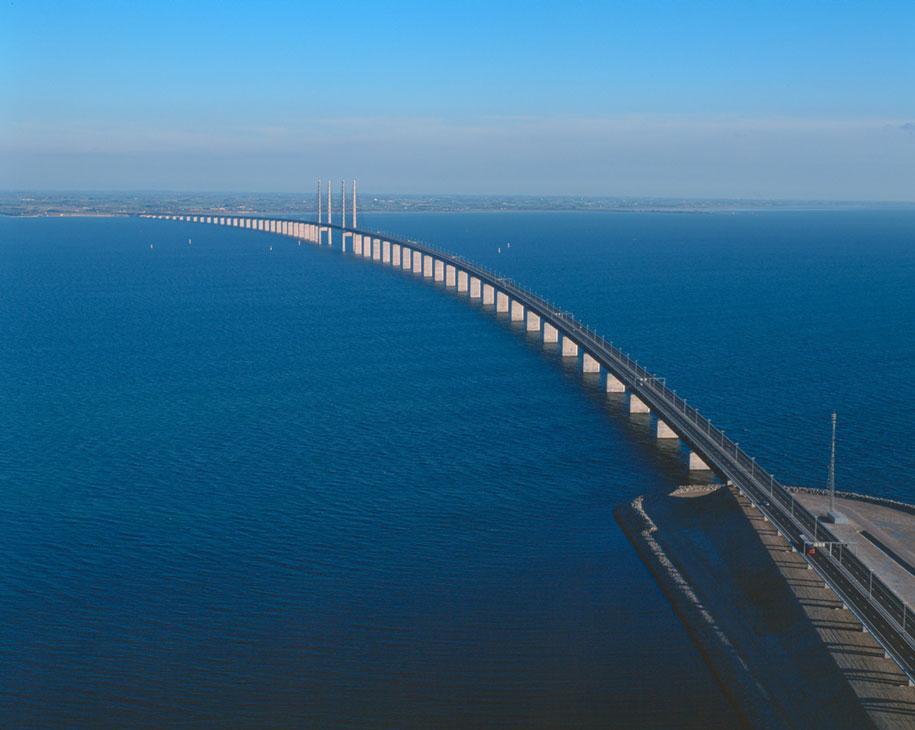 мост между данией и швецией- 1