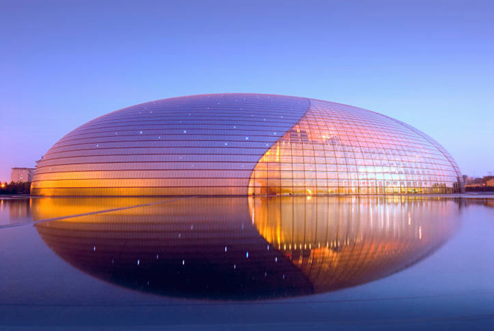 Beijing National Grand Theater, The Egg, Tiananmen, Beijing, China Фото: Paul Andreu