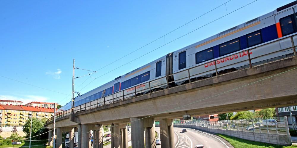Поезда Öresundståg