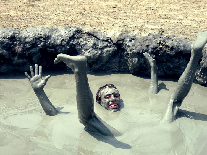 вулкан - купание с улыбкой