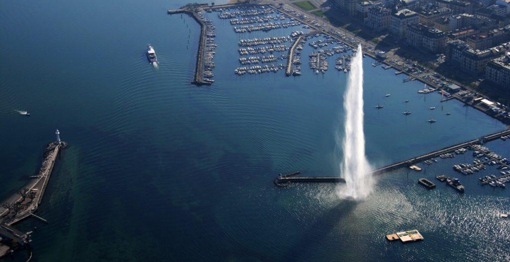Женевское озеро. Фото: varvarka.ru
