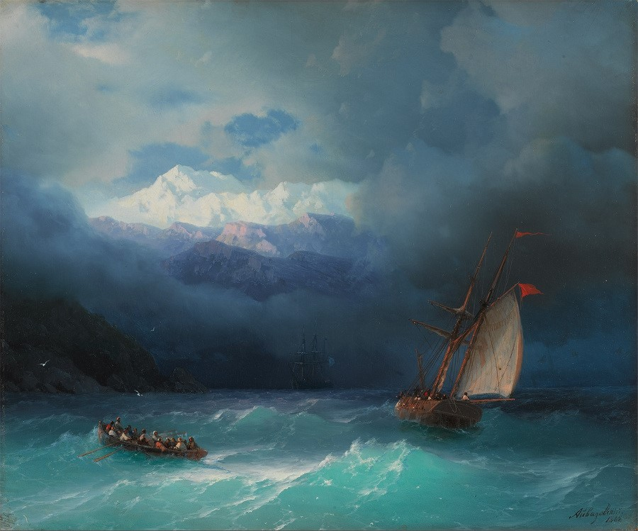 i-ajvazovskij-burnoe-more-1868