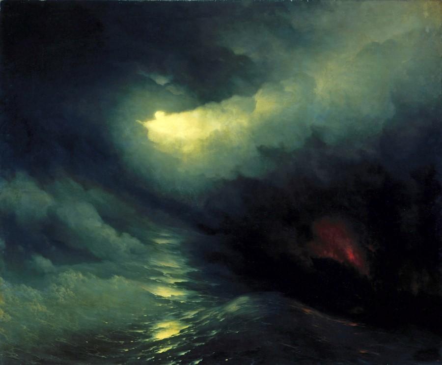 i-ajvazovskij-sotvorenie-mira-1841