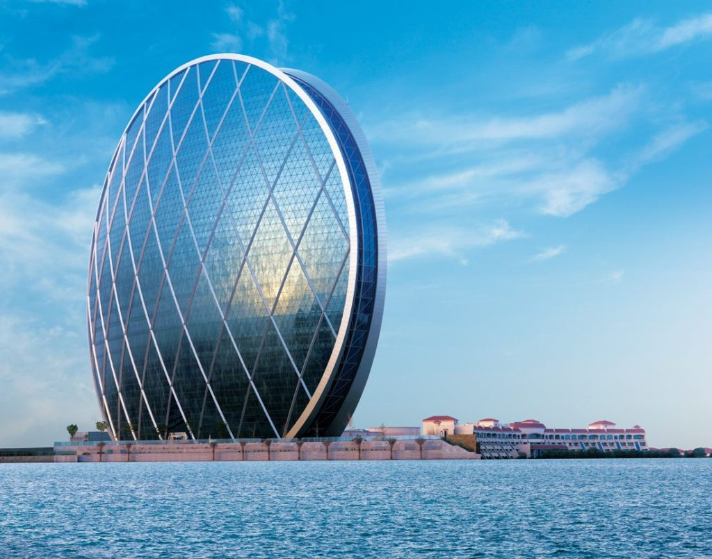 ALDAR TOWER В ОАЭ